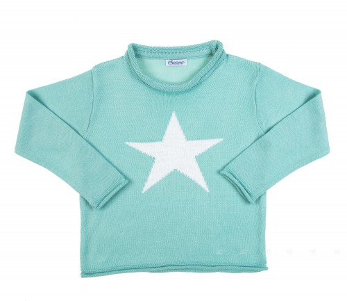 Jersey Estrella Verde Agua