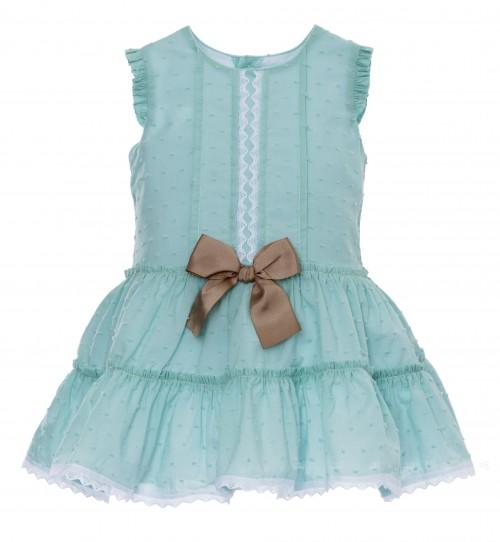 Rochy Verano 2015 vestido Verde Aguamarina