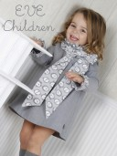 Grey Dress with Maxi Bow
