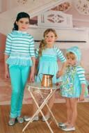 Pantalon niña verde agua verano Kauli compra online