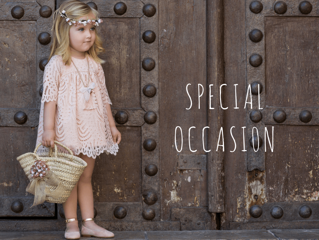 Special Occasion. Latest Spanish Designer Kids Fashion