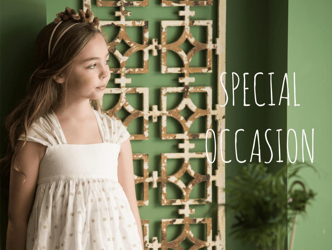 Special Occasion. Latest Spanish Designer Kids Fashion